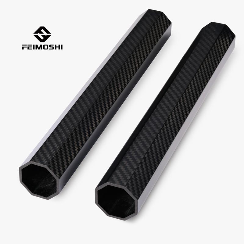 Octagon carbon fiber boom